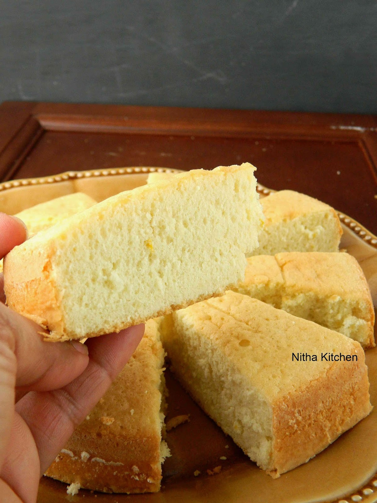 Sponge Cake Recipe From Scratch  No Butter and No Oil Vanilla Sponge Cake From Scratch