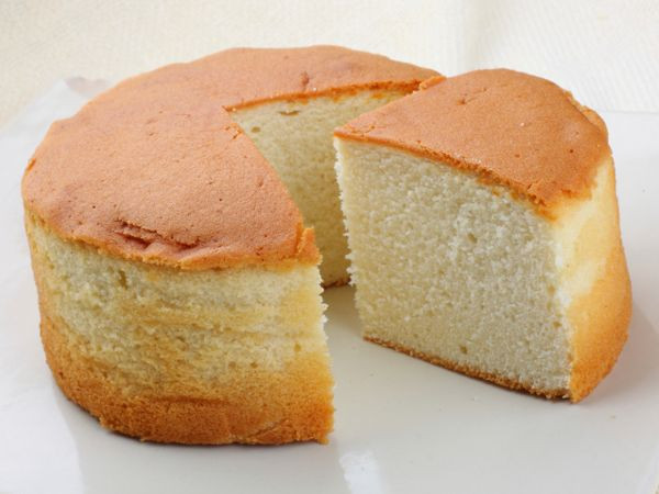 Sponge Cake Recipe From Scratch  Made without any butter this vanilla sponge cake is a