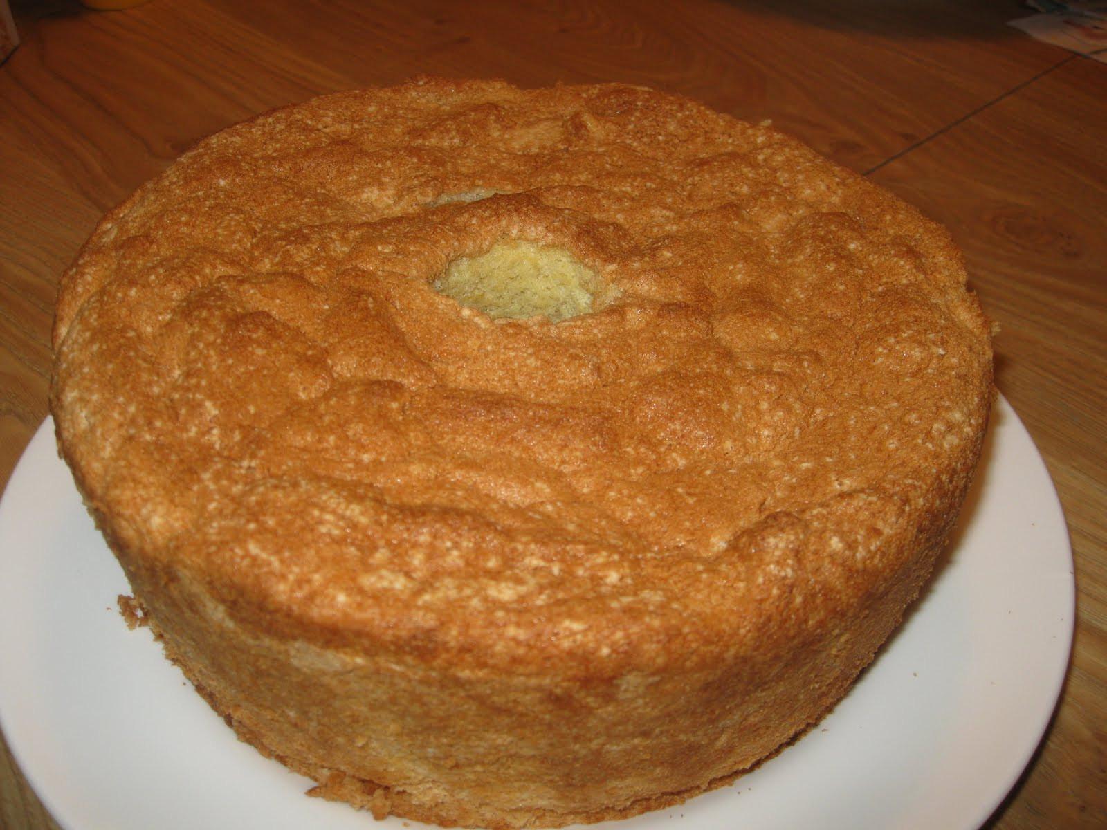 Sponge Cake Recipe From Scratch  Nana s Recipe Box Grandma Sylvia s Passover Sponge Cake
