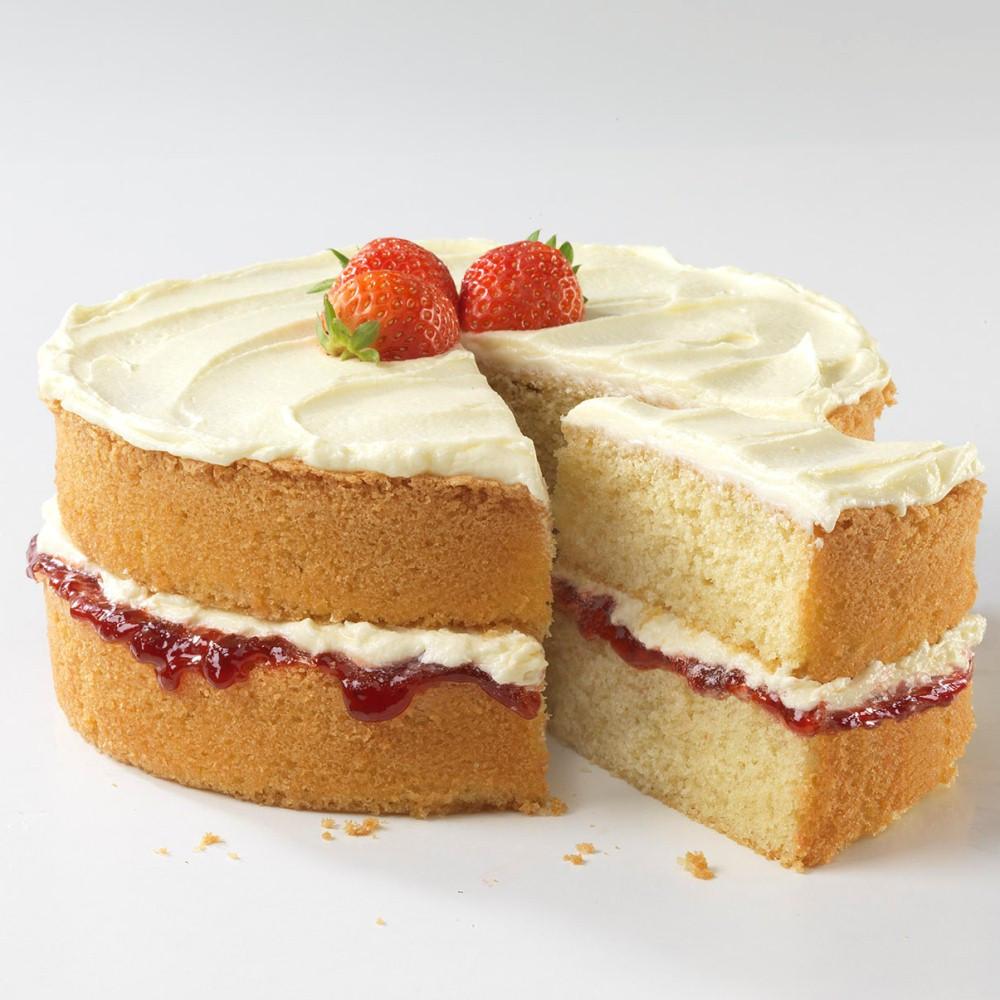 Sponge Cake Recipe  Victoria Sandwich Cake with Buttercream Icing