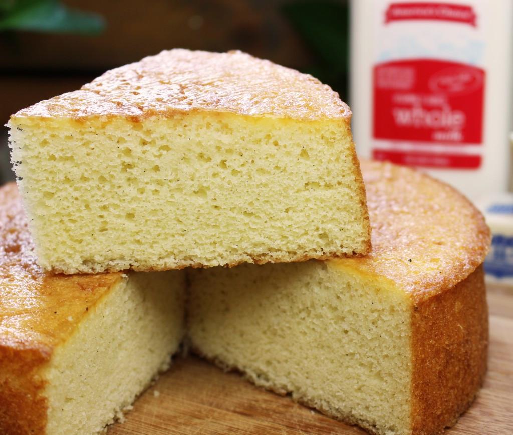 Sponge Cake Recipe  Yellow Sponge Cake
