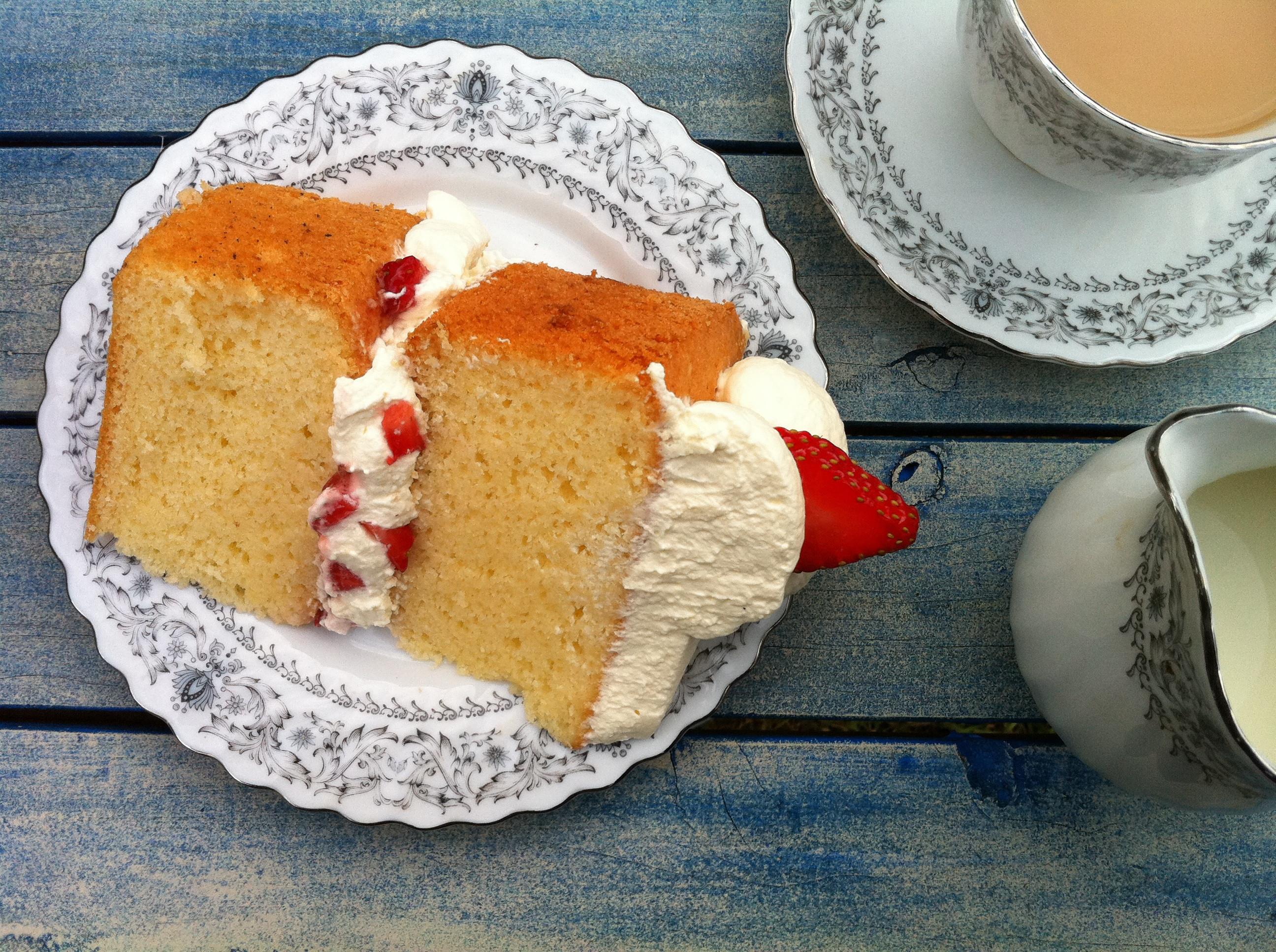 Sponge Cake Recipe  HowToCookThat Cakes Dessert & Chocolate