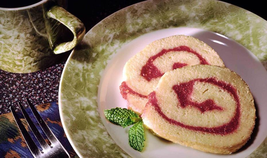 Sponge Cake Roll  Easy Sponge Roll Cake Recipe
