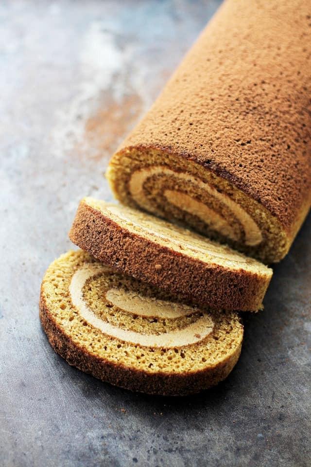 Sponge Cake Roll  Tiramisu Cake Roll Recipe