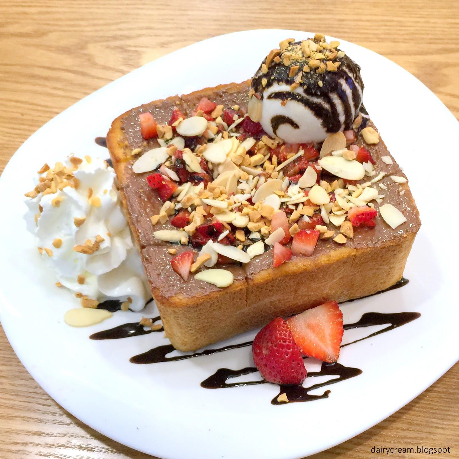 Spoon Dessert Cafe  Singapore Japan Food Blog Dairy and Cream O ma Spoon