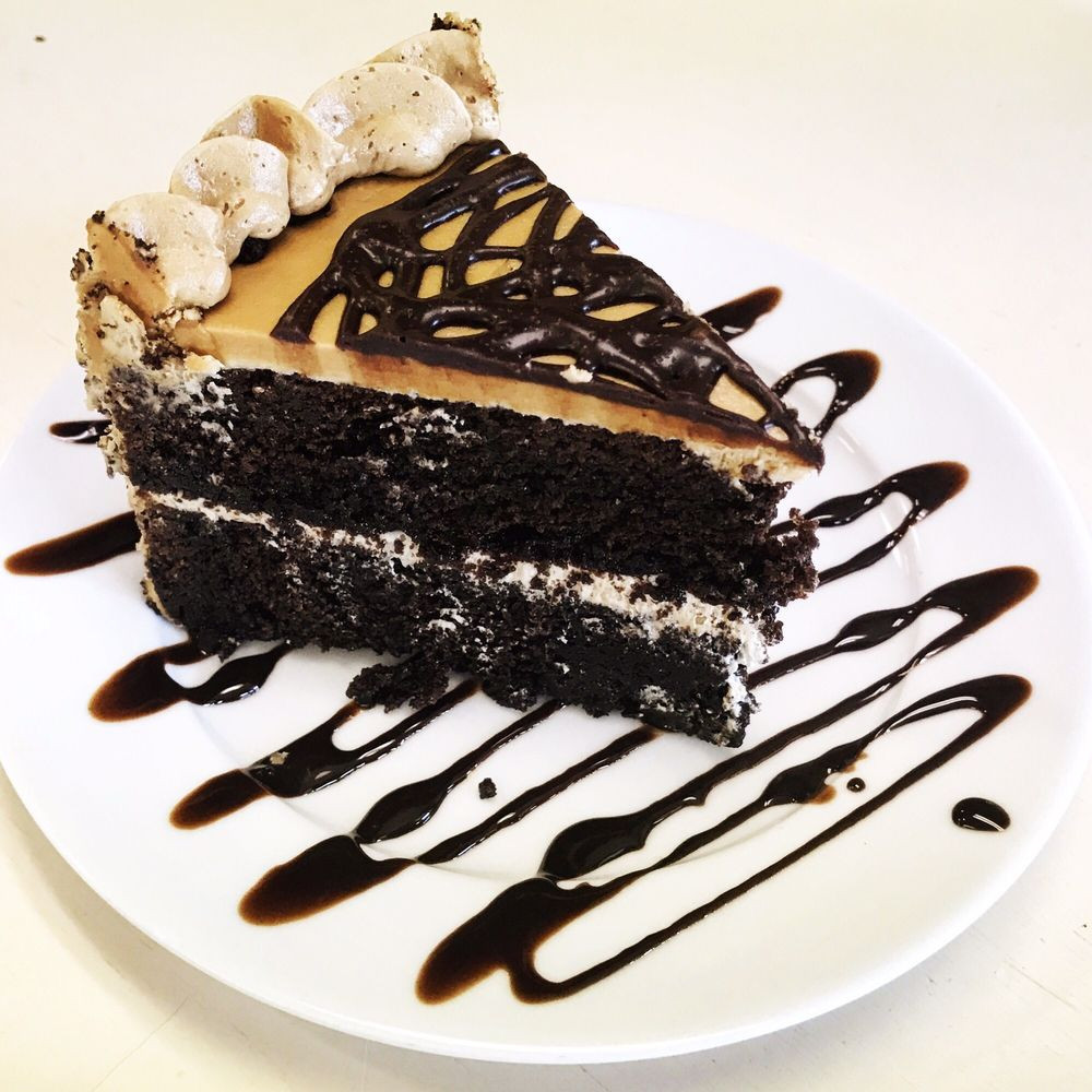 Spoon Dessert Cafe  Chocolate Expresso Cake Yelp