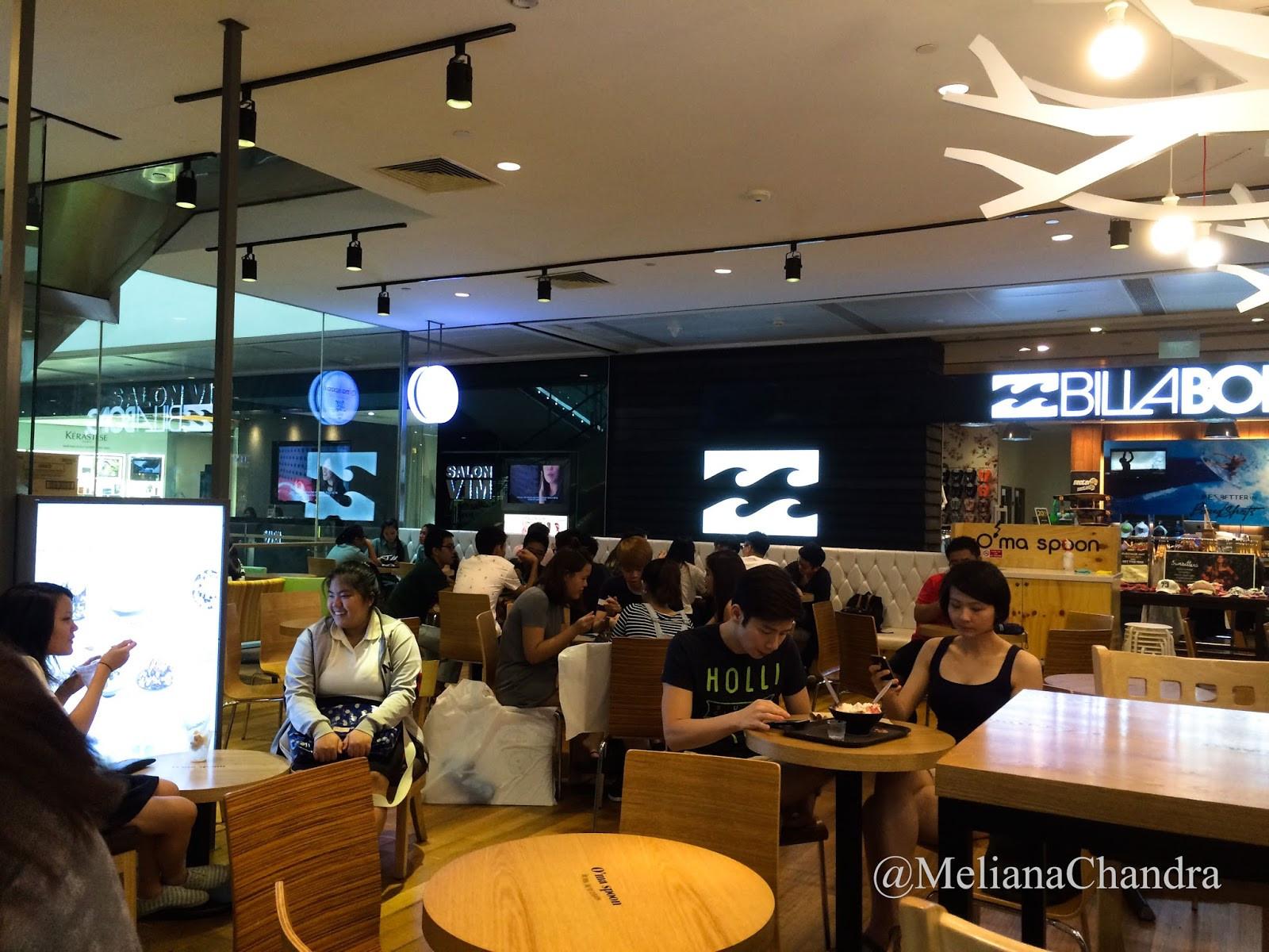 Spoon Dessert Cafe  O ma Spoon Korean Dessert Cafe MILK FLAKE BINGSU