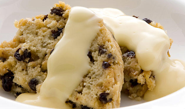 Spotted Dick Dessert  Spotted Dick Pudding and More Traditional English Foods