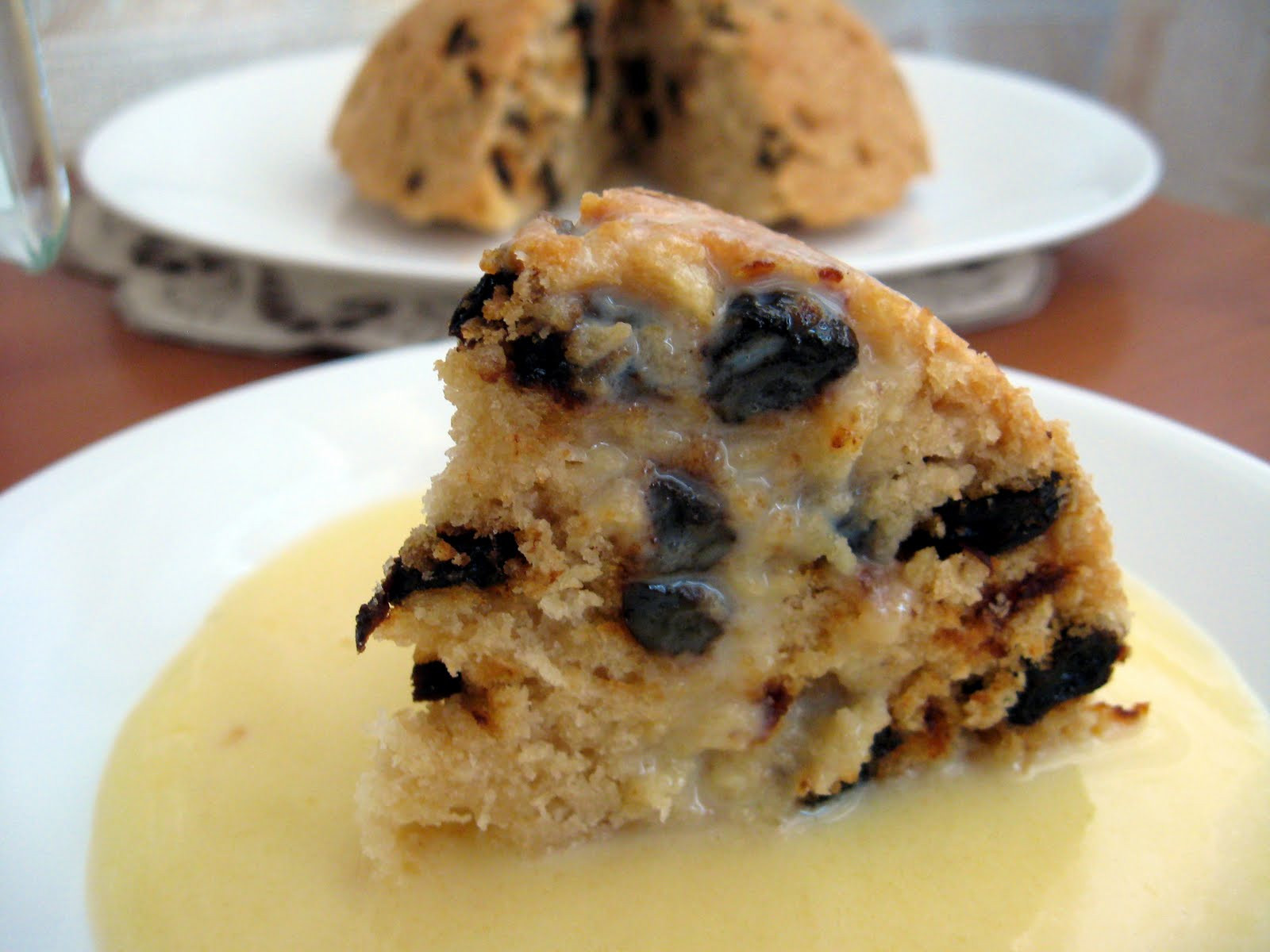 Spotted Dick Dessert  My Food Affair English pudding Daring Baker