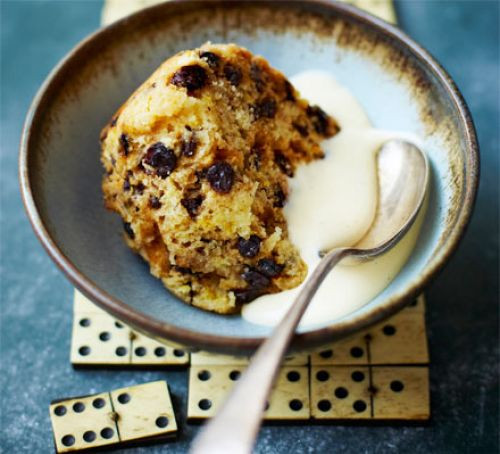 Spotted Dick Dessert  Spotted dick recipe
