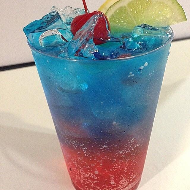 Sprite And Vodka Drinks  CAPTAIN AMERICA ———————– 1