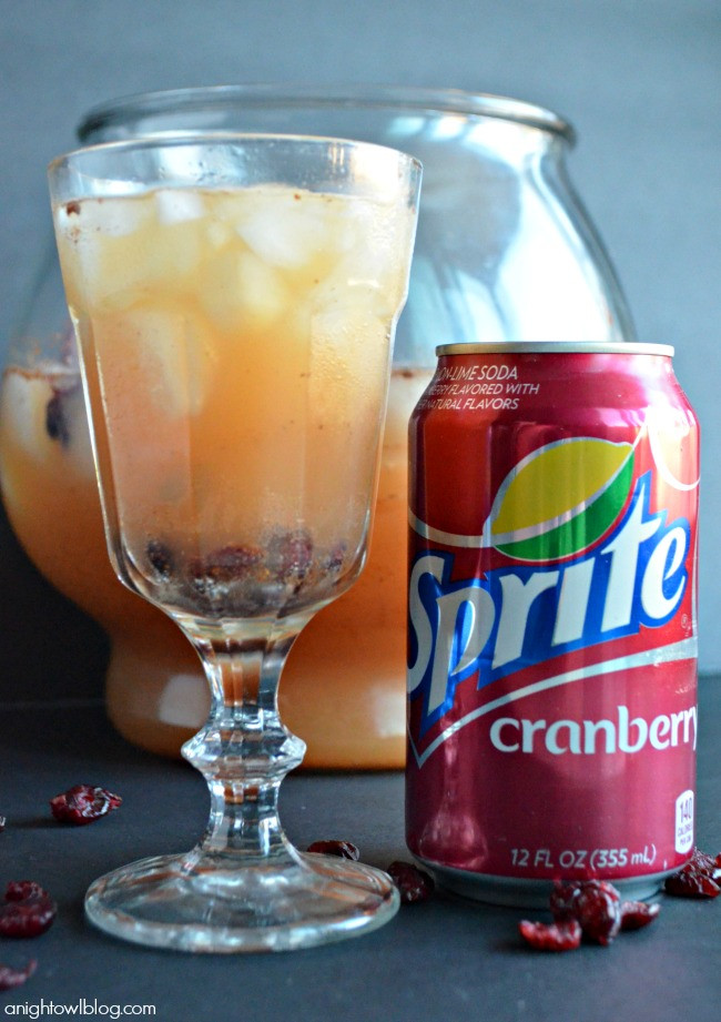"Sprite And Vodka Drinks  Sprite Cranberry Sparkle ""Berry"" Up the Holidays A"
