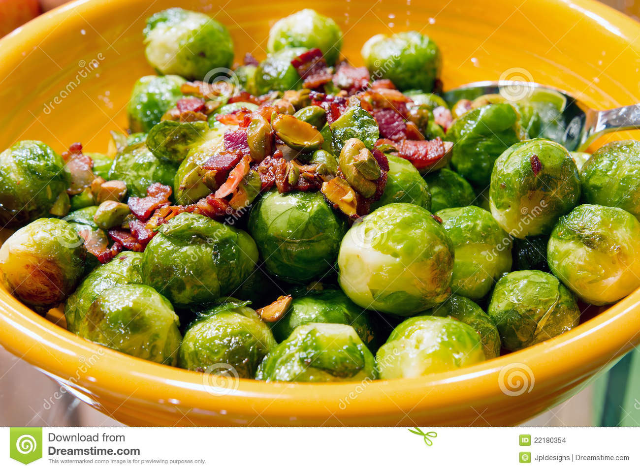 Sprouts Thanksgiving Dinner  Thanksgiving Day Dinner Brussels Sprout Bacon Stock