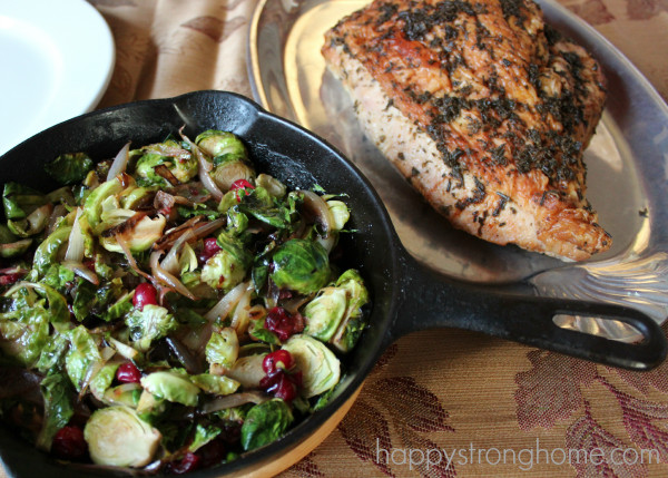Sprouts Thanksgiving Dinner  A Thanksgiving Menu Plan Brussels Sprouts Recipe