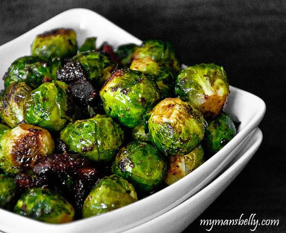Sprouts Thanksgiving Dinner  roasted brussels sprouts easy thanksgiving recipes cast