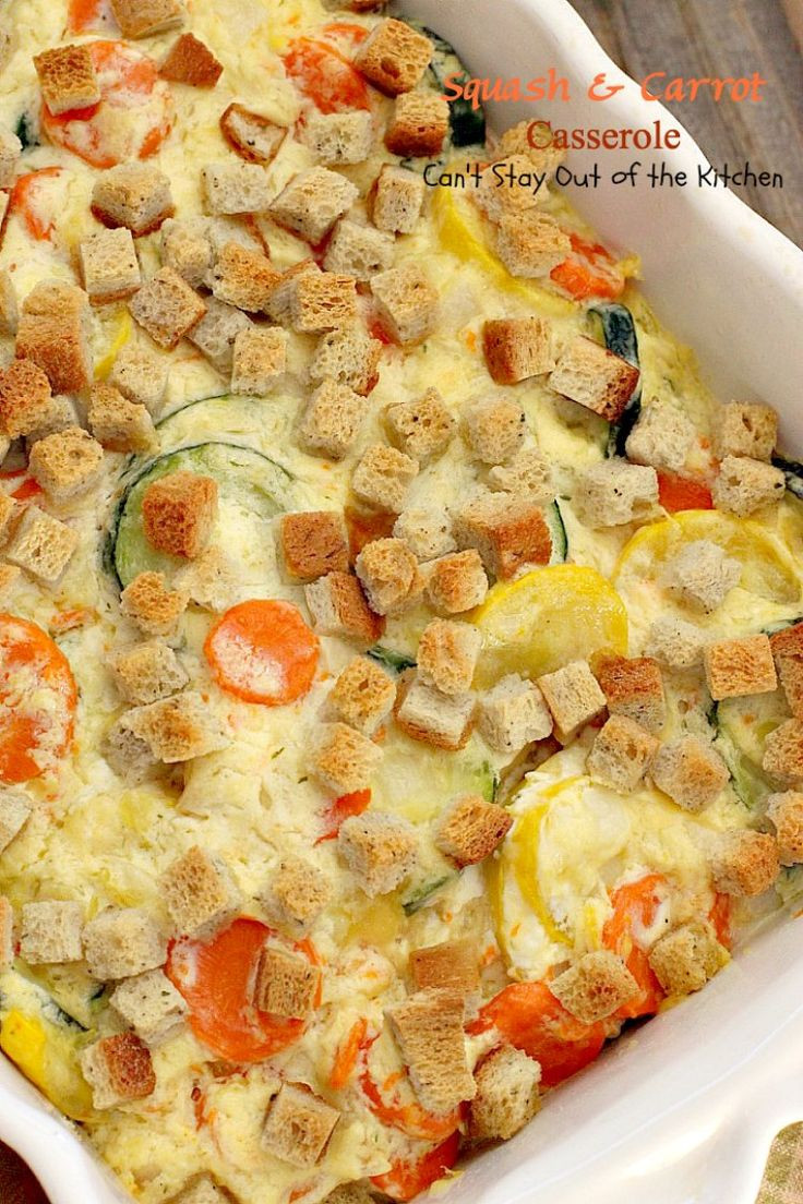 Squash Casserole With Cream Of Chicken Soup  squash casserole with sour cream and cream of chicken soup