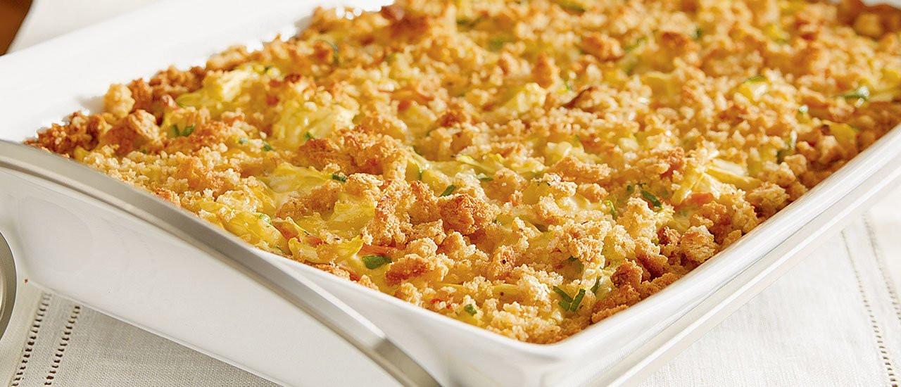 Squash Casserole With Stuffing  Zucchini & Yellow Squash Casserole Recipe