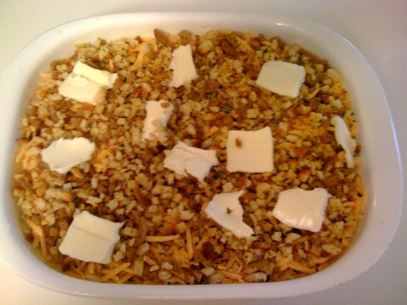 Squash Casserole With Stuffing  Sweet Tea and Cornbread Herb Stuffing Squash Casserole