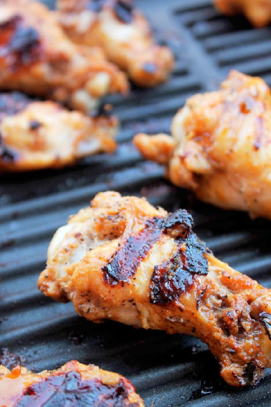 Sriracha Chicken Wings  Grilled Sriracha Chicken Wings Creole Contessa