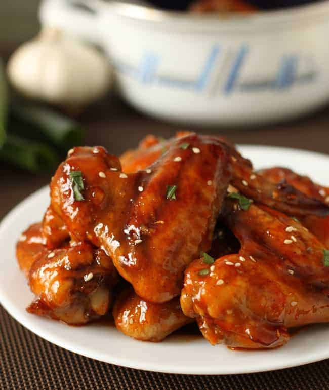 Sriracha Chicken Wings  Baked Sriracha Chicken Wings