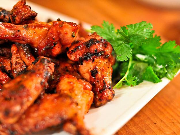 Sriracha Chicken Wings  Grilled Sriracha Hot Wings Recipe