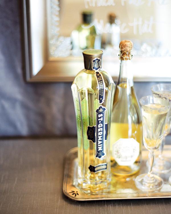 St Germain Cocktails  DIY St Germain & Champagne Snippet & Ink