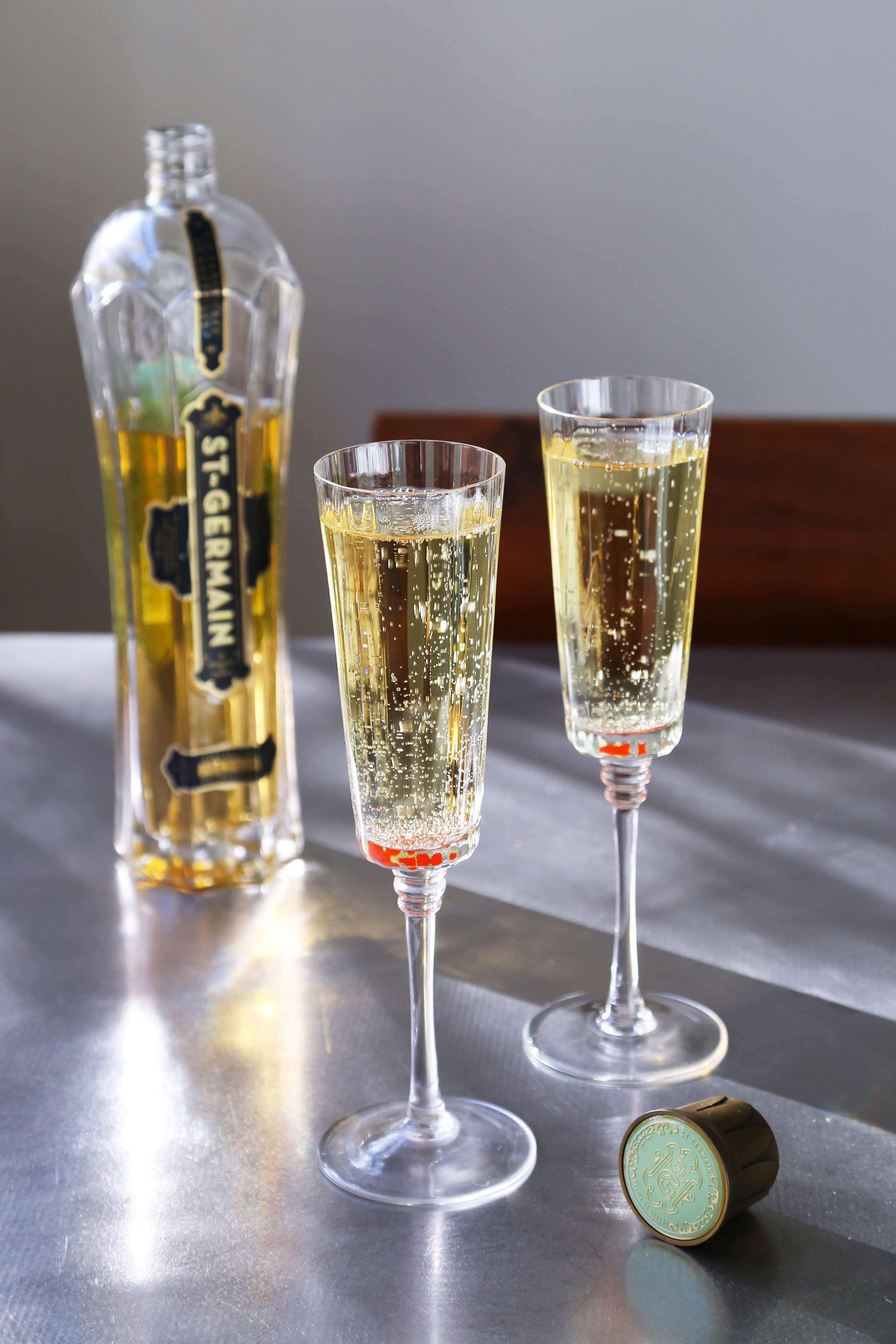 St Germain Cocktails  St Germain and Champagne