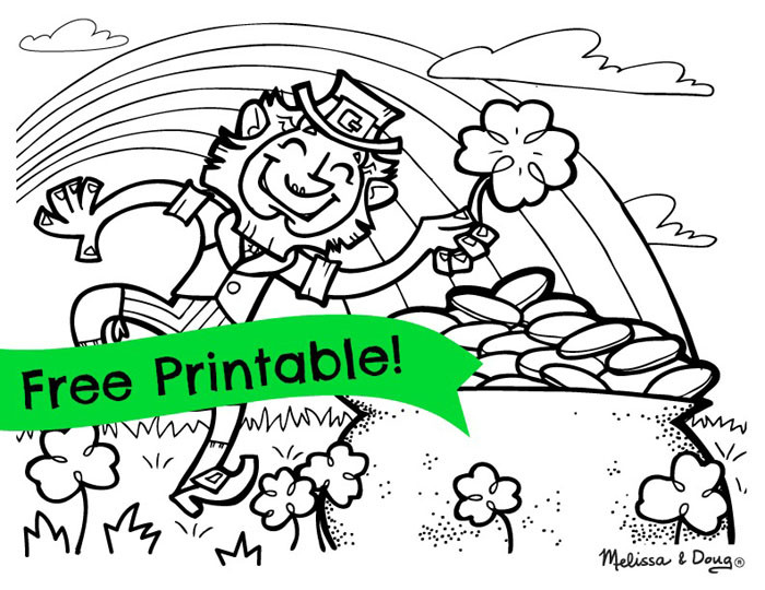 St. Patrick'S Day Cupcakes  Printable St Patrick 039 s Day Coloring Pages For Toddlers