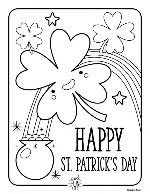 St. Patrick'S Day Cupcakes  Saint Patrick S Day Coloring Pages Catholic Coloring Pages