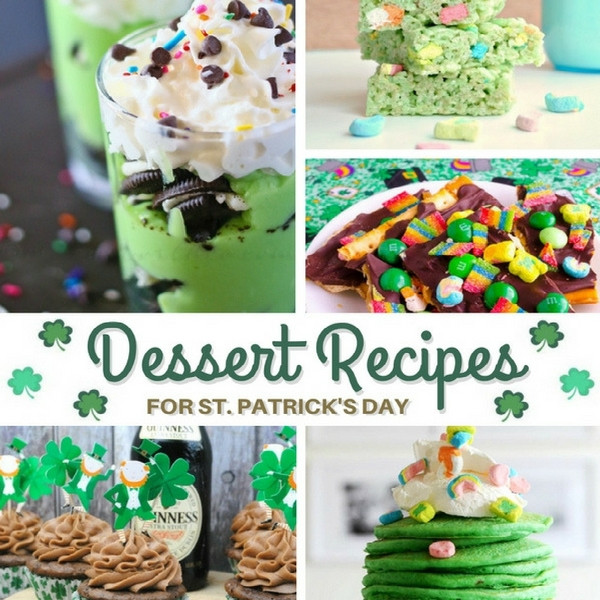 St Patrick'S Day Dessert Ideas  St Patrick s Day Dessert Recipes Inside the Fox Den
