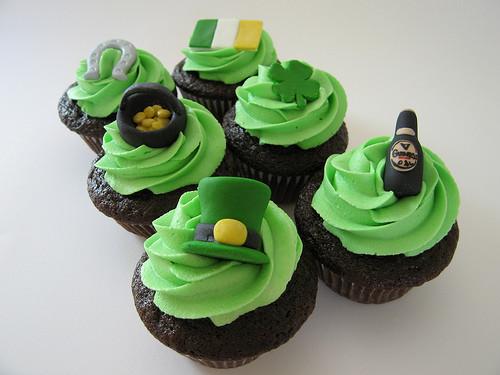 St Patricks Day Cupcakes  St Patrick's Day Cupcakes