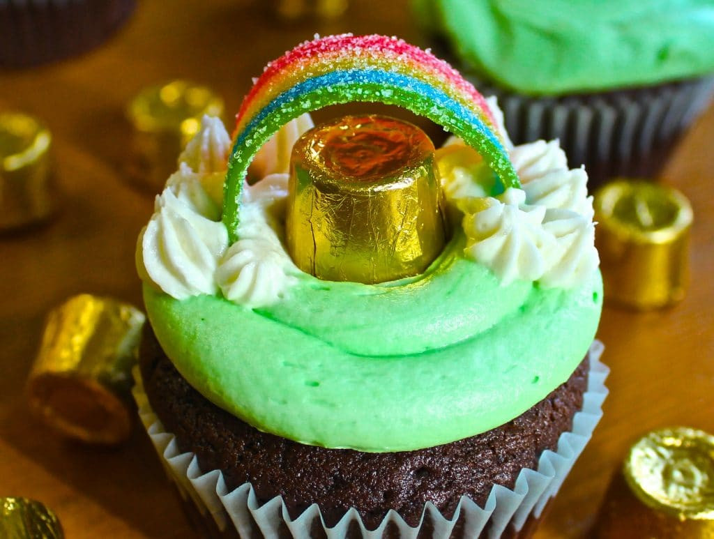 St Patricks Day Cupcakes  St Patricks Day Guinness Cupcakes