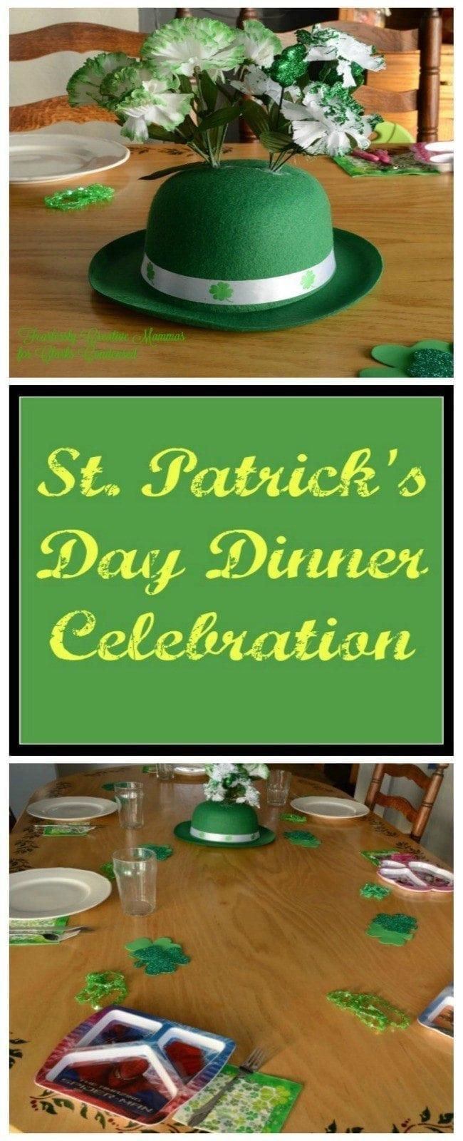 St Patricks Day Dinner  St Patrick s Day Dinner