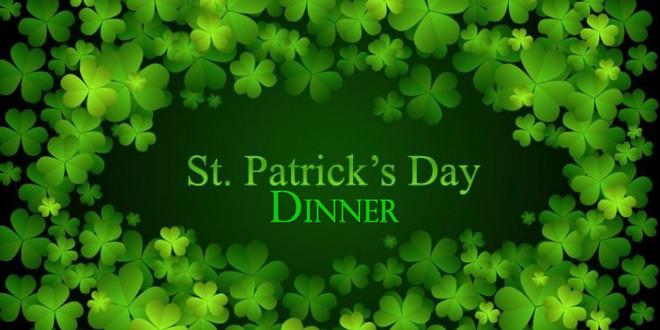 St Patricks Day Dinner  St Patrick's Day Celebration Dinner – FishersIsland
