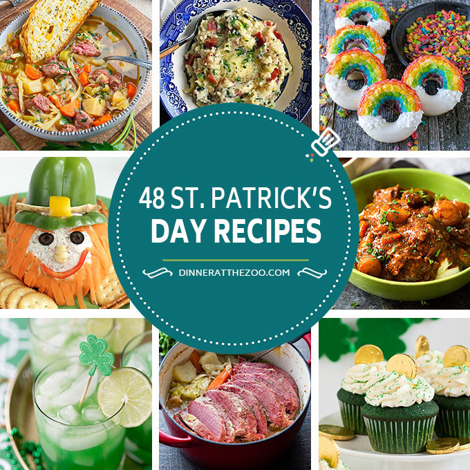 St Patricks Day Dinner  48 St Patrick s Day Recipes Dinner at the Zoo