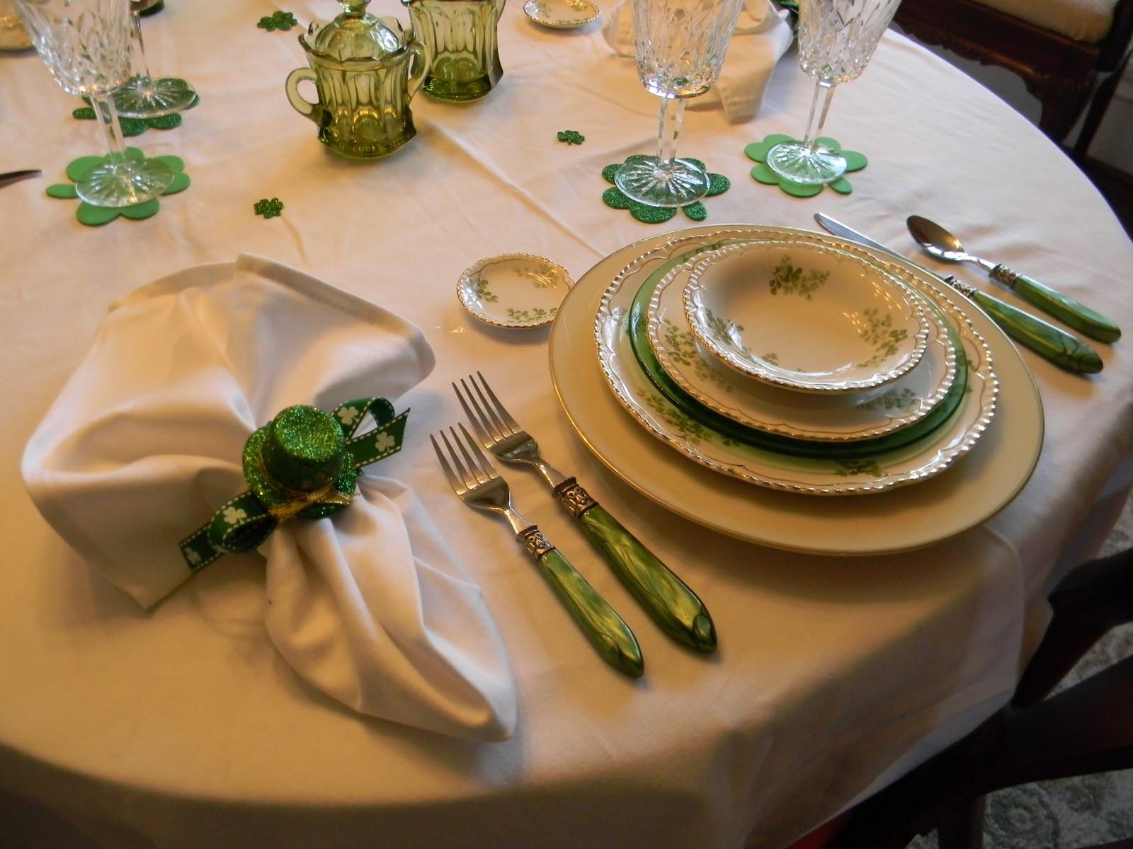 St Patricks Day Dinner  A Toile Tale Saint Patrick s Day Dinner