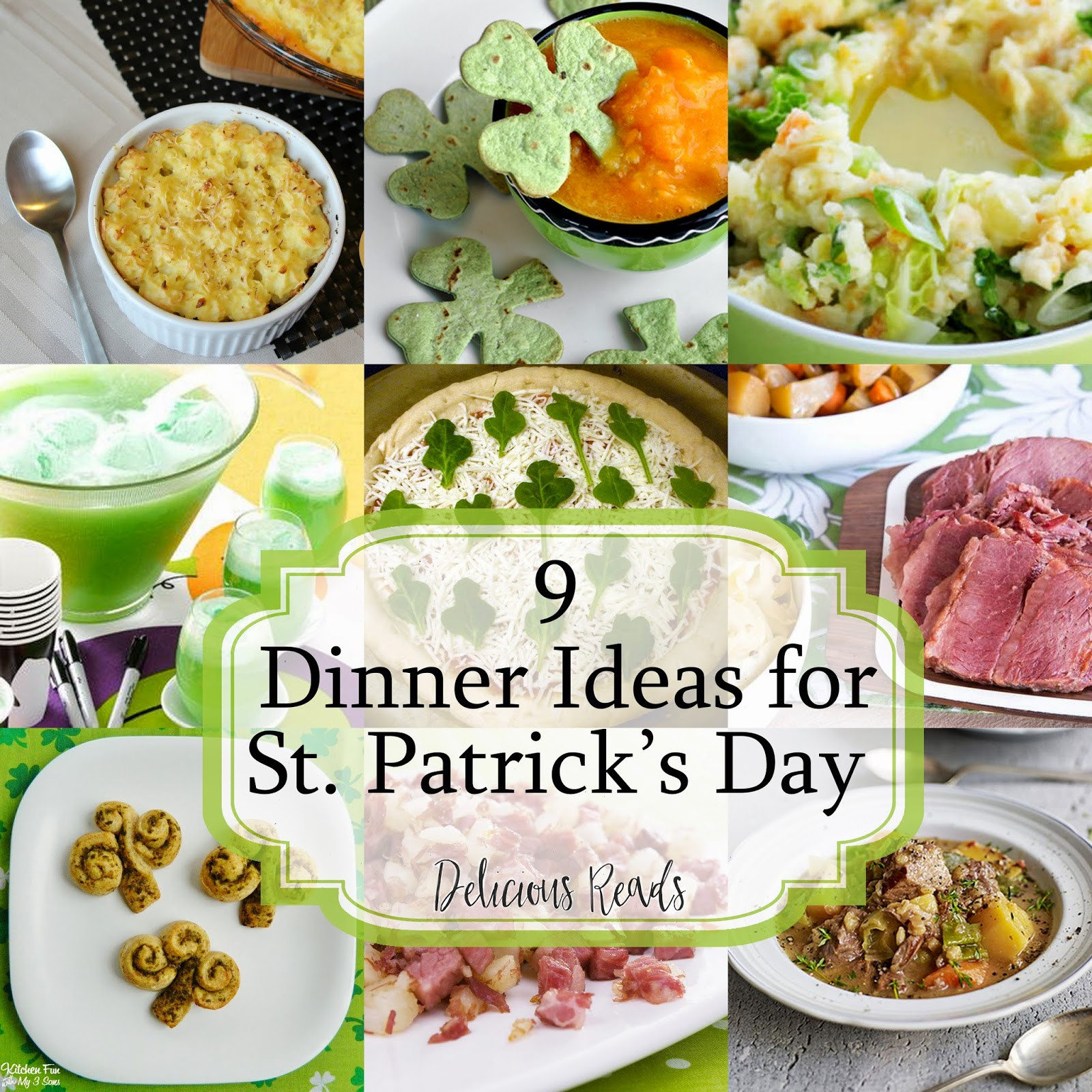 St Patricks Day Dinner  Delicious Reads 9 Easy Irish Foods for St Patrick s Day