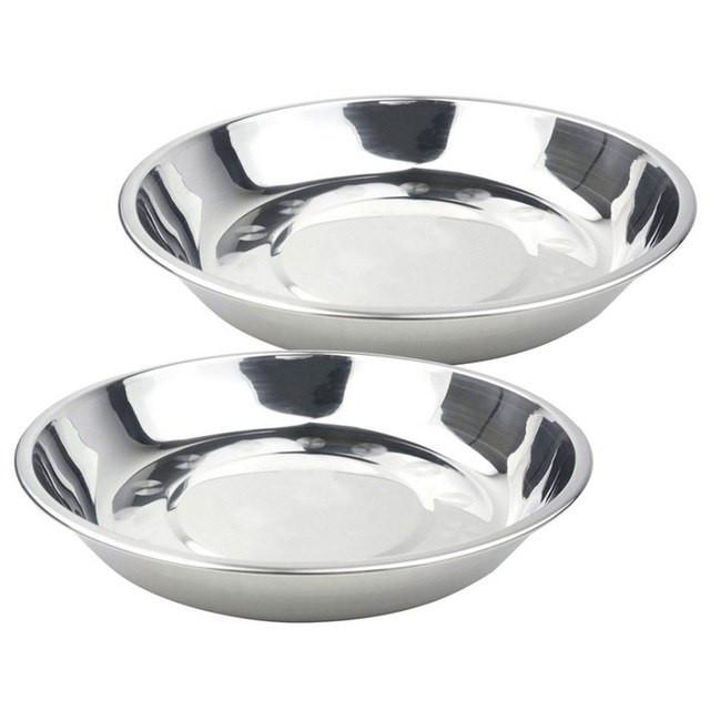 Stainless Steel Dinner Plates  Easy Dinner Plates & 17 2 2cm Stainless Steel Dish Dinner