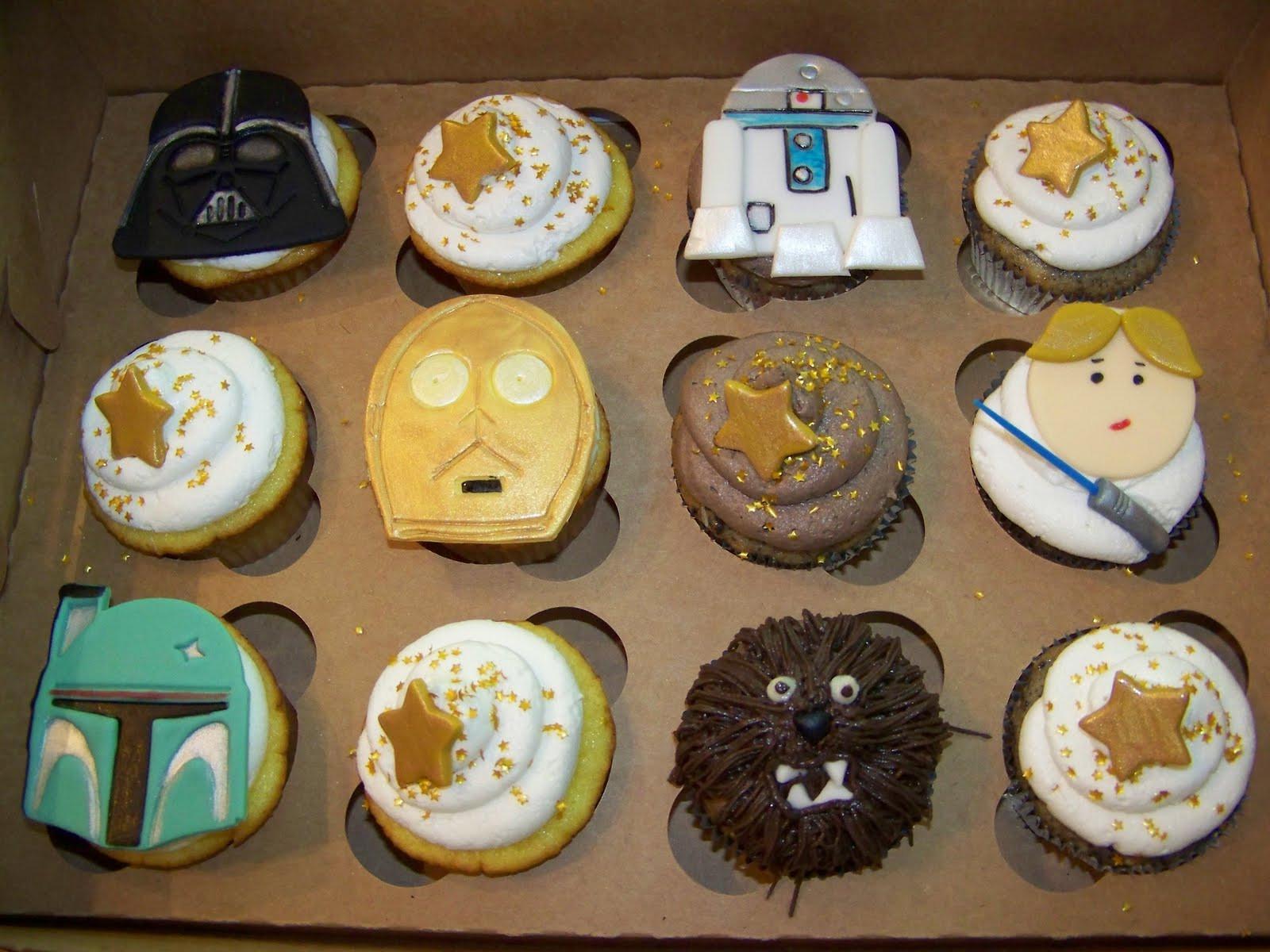 Star Wars Cupcakes  Chita Juice Star Wars Cupcake Explosion