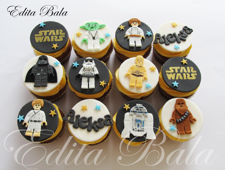 Star Wars Cupcakes  Top Star Wars Cakes