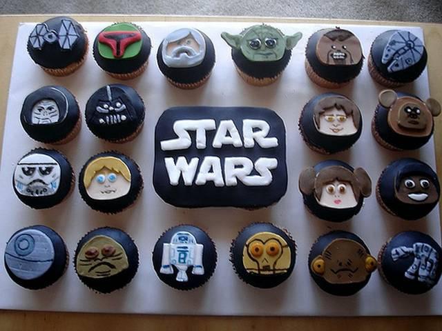 Star Wars Cupcakes  Cupcakes to Suit The Geeks Taste