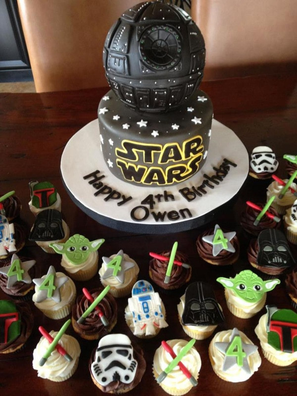 Star Wars Cupcakes  10 Out of This World Star Wars Cakes Pretty My Party