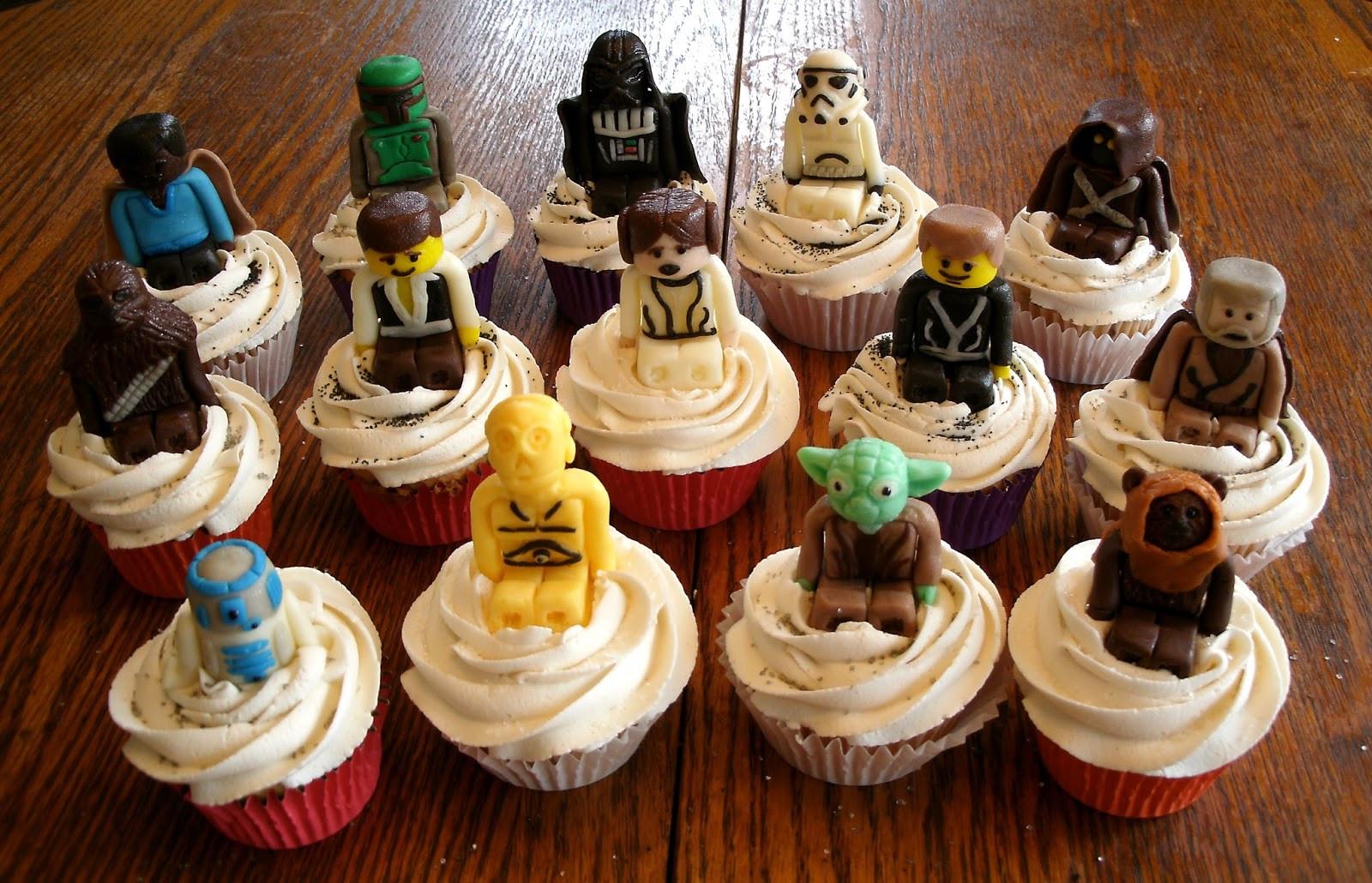 Star Wars Cupcakes  MuyAmeno Cupcakes de Star Wars 3