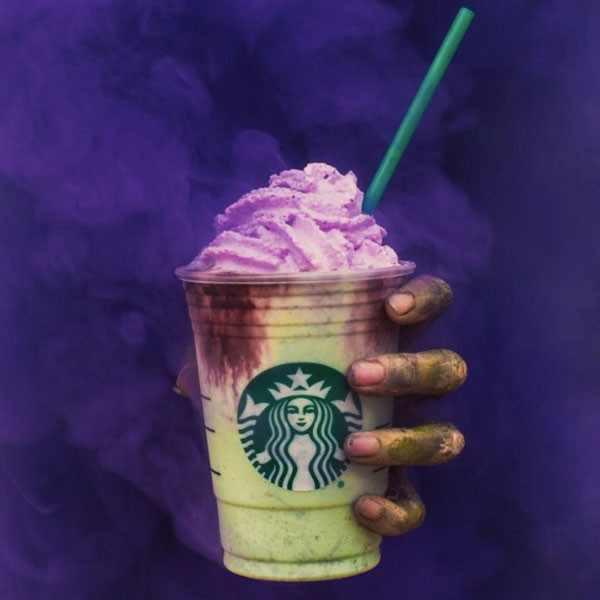 Starbucks Halloween Drinks  Starbucks Zombie Frap Worth It