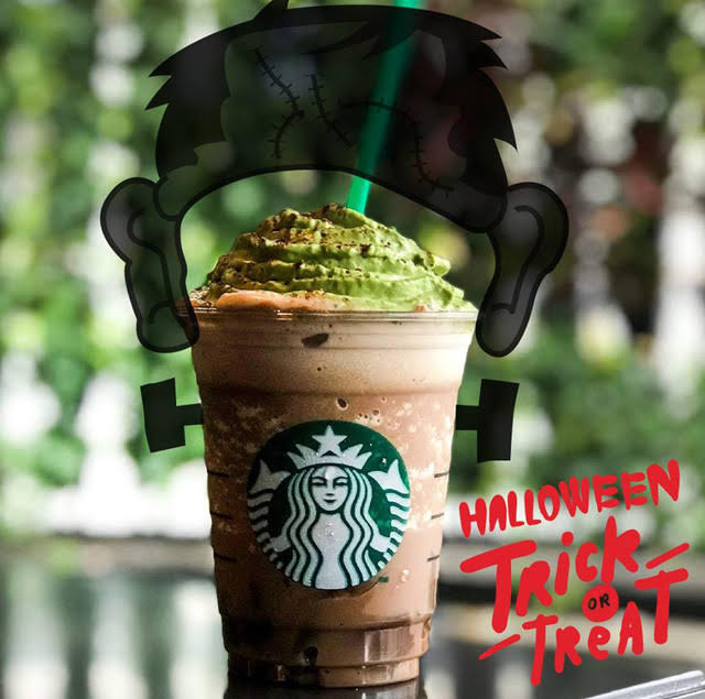 Starbucks Halloween Drinks  Trick or treat You can only this Starbucks Halloween