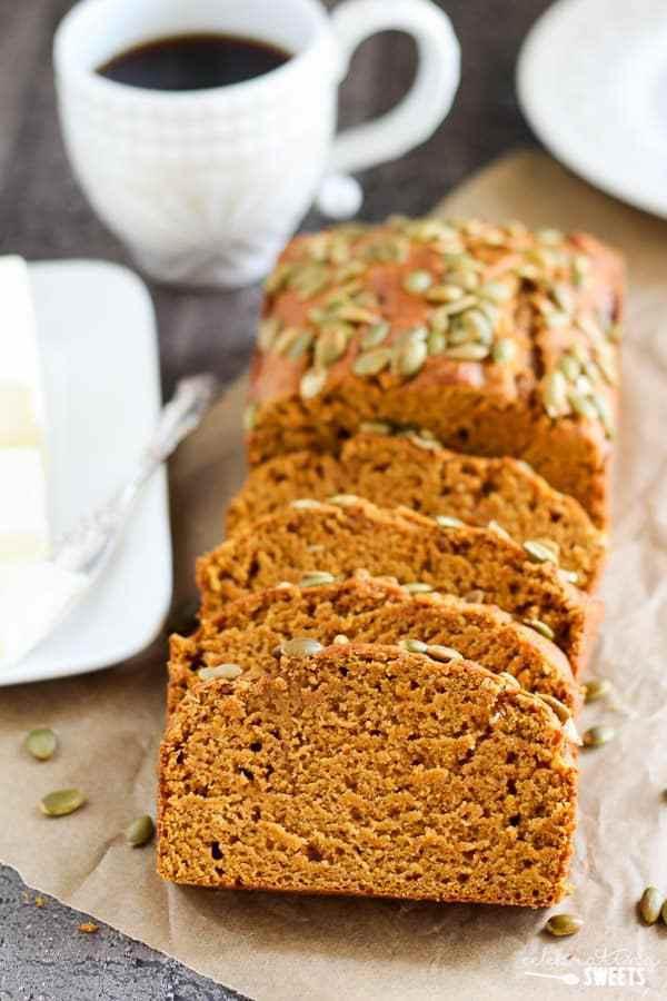 Starbucks Pumpkin Bread Recipe  Healthier Copycat Starbucks Pumpkin Bread