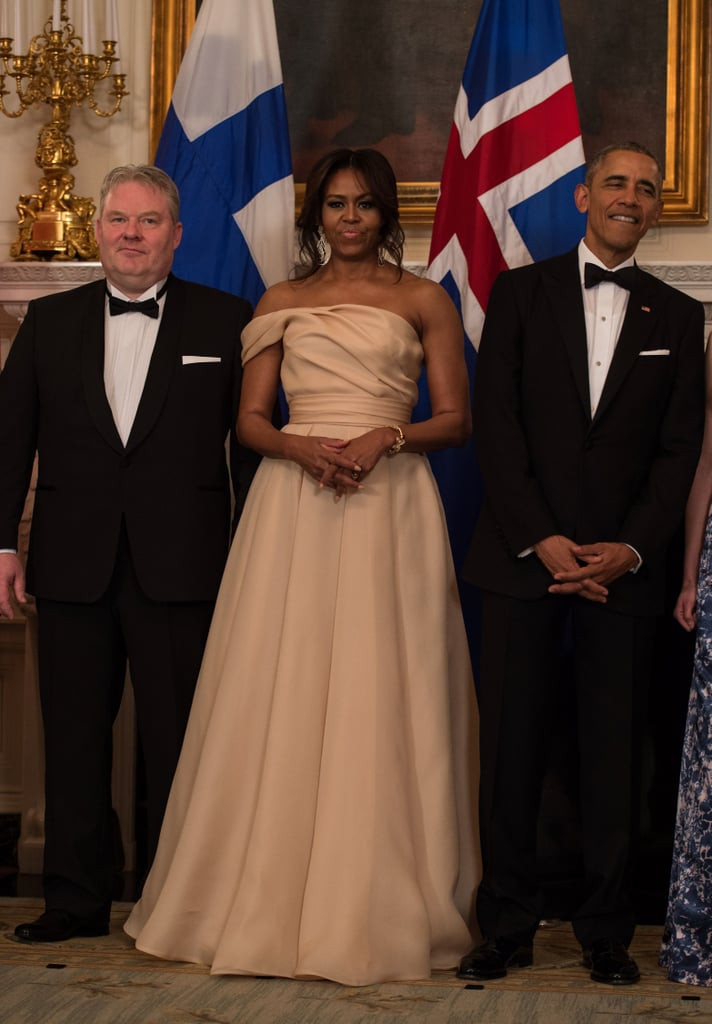 State Dinner 2016  Barack and Michelle Obama at Nordic State Dinner 2016