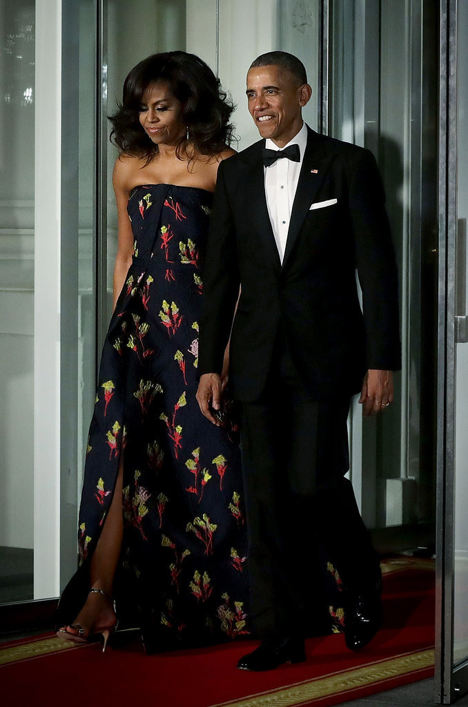 State Dinner 2016  Michelle Obama s Jason Wu Gown at Canada State Dinner 2016