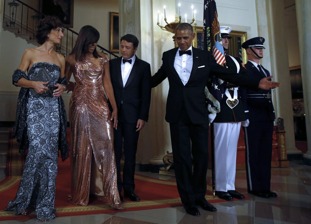 State Dinner 2016  Barack and Michelle Obama at Last State Dinner October