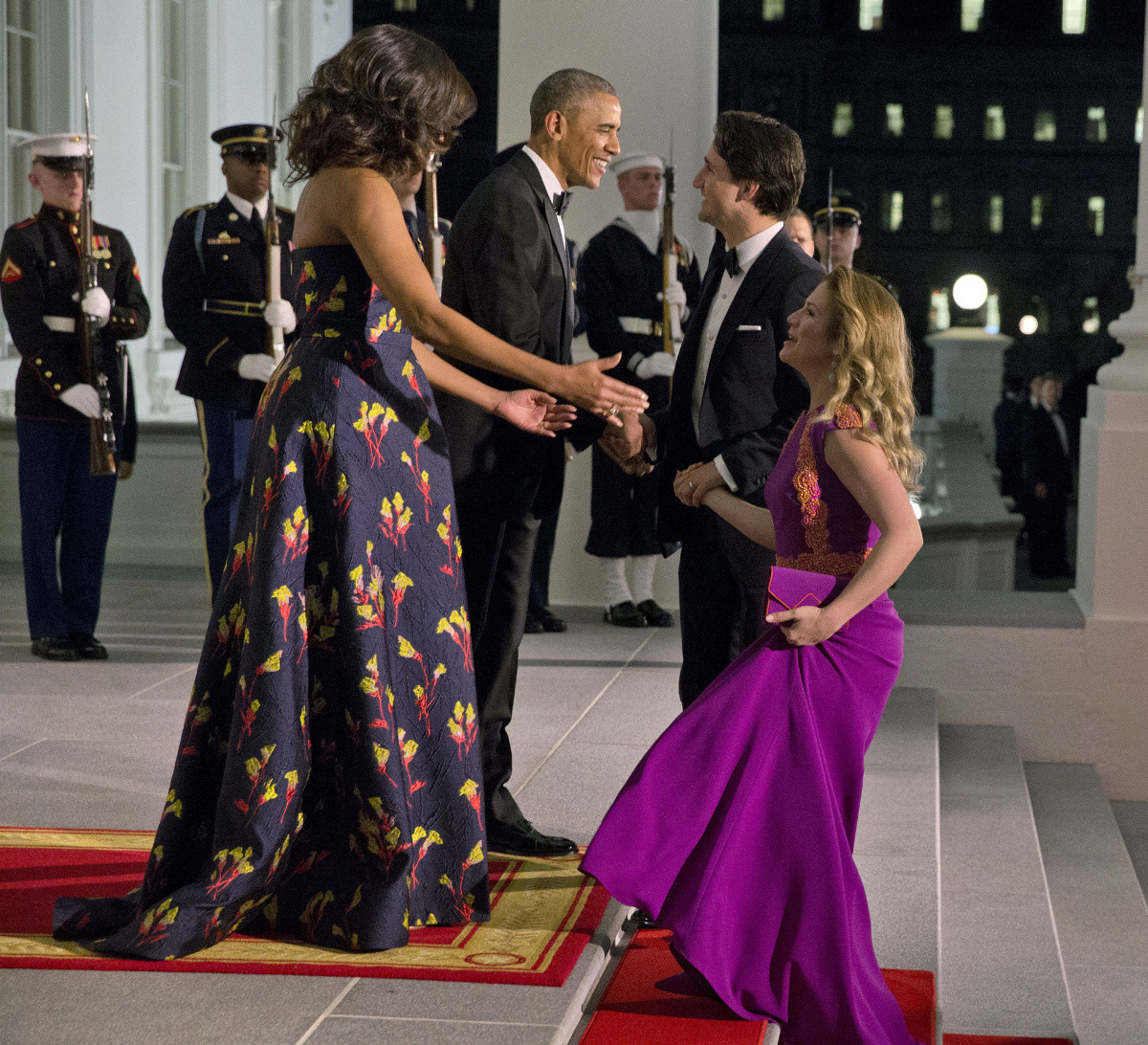 State Dinner 2016  Glitz and glamour as Justin Trudeau attends state dinner